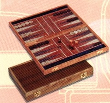 Backgammon Game Hand Made Large 36x31cm 