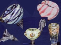 Glass Bowls And Stems