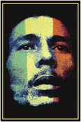 Marley Face Poster