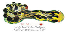 Puff Swirled Inside Out Glass Spoon *Hot Seller*